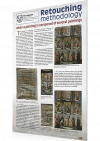 Retouching methodology when a painting is composed of several paintings