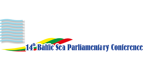 "Logotipas ""14th Baltic Sea Parliamentary Conference"""