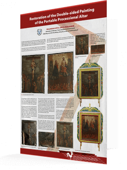 Restoration of the Double-sided Paiting of the Portable Processional Altar